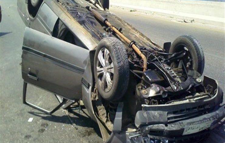 مصرع شخص وإصابة آخر جراء حادث انقلاب سيارة في الوادي الجديد