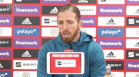مونياين يعاني من آلام عضلية قبل مواجهة برشلونة