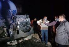 صورة وزير النقل: سائق أتوبيس حادث أسيوط سار في الاتجاه المعاكس لمسافة 9 كيلومترات