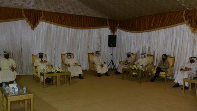 صورة الوزير الشايع يلتقي أهالي جنوب صباح الأحمد