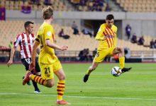 صورة برشلونة يهزم بيلباو برباعية ويتوج بلقب كأس ملك إسبانيا