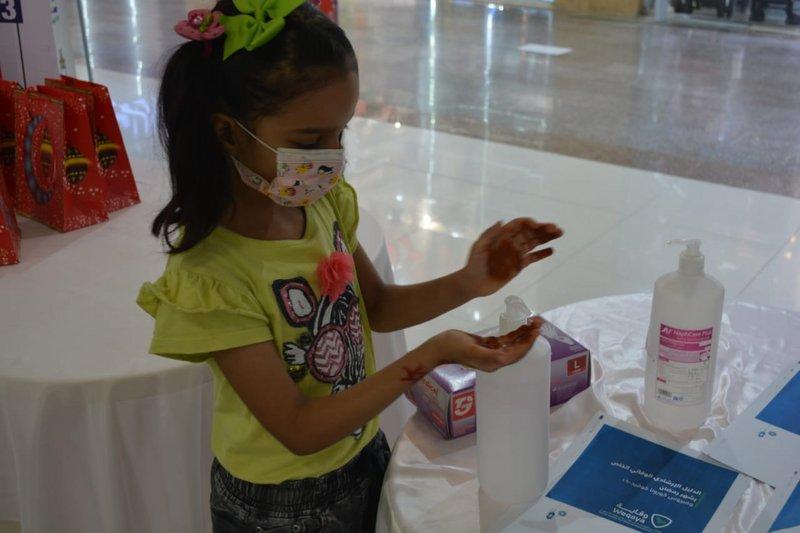 """حملة توعية لـ""""مستشفى صامطة العام"""" بالإجراءات الاحترازية"""