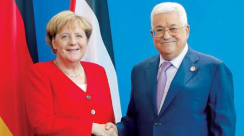 Abbas'tan Merkel'e seçimlere müdahale etmemesi için İsrail'e baskı yapın çağrısı