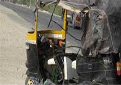 إصابة 3 أشخاص جراء حادث انقلاب توك توك بالبحيرة