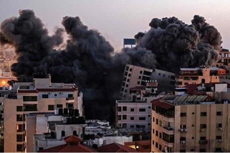 ارتفاع عدد شهداء قطاع غزة الى 109 حتى الآن
