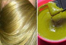 اسرار صبغ الشعر باللون الاشقر الذهبى اللامع فالبيت مثل الكوافيرات المحترفات وتغطية الشيب
