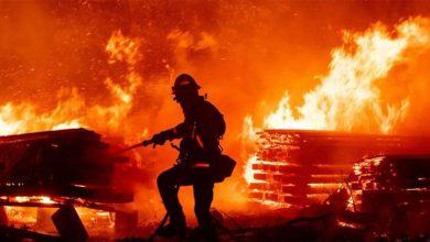الأردن.. السيطرة على حريق في 4 خطوط نفط