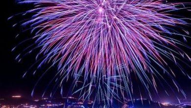 الألعاب النارية تزين سماء الباحة احتفالاً بعيد الفطر المبارك · صحيفة عين الوطن