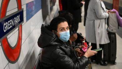 الصحة البريطانية: تسجيل حالتي وفاة بفيروس كورونا خلال الـ 24 ساعة .