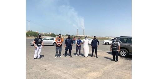 الكهرباء تقطع التيار عن شاليهات الصيادين المخالفة على جون الكويت