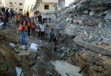 تصاعد صراع غزة بوابل من الصواريخ على إسرائيل وضربات جوية على القطاع
