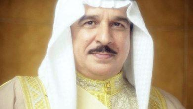 جلالة الملك يتلقى برقيتي تهنئة من الشيخ علي بن خليفة والشيخ سلمان بن خليفة
