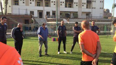 جلسة تحفيزية فى المقاولون العرب للفوز على البنك الأهلي فى الدورى