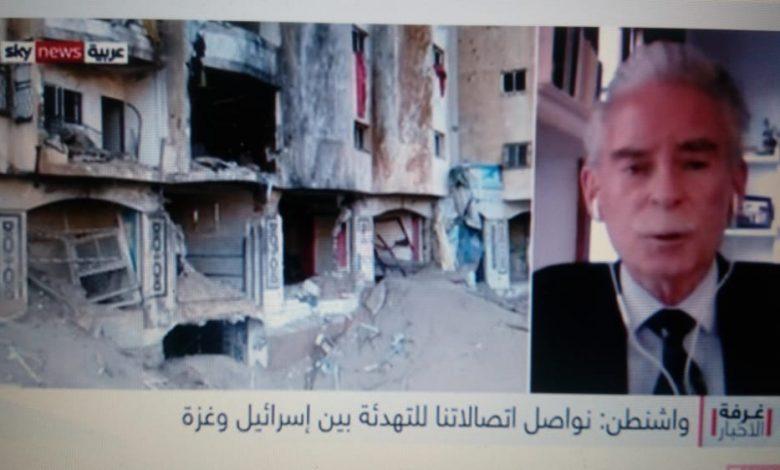 ريتشارد شماير: استمرار إرسال الصواريخ بإتجاه إسرائيل يقيد الدعم الأمريكي لفلسطين