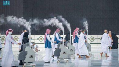 «شؤون الحرمين» ترفع جاهزيتها بحزمة من الإجراءات لاستقبال قاصدي بيت الله الحرام لأداء صلاة العيد - أخبار السعودية