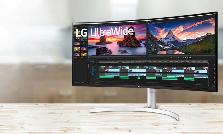 شركة LG تطلق شاشة 34WP550-B فائقة العرض المخصصة للأعمال المكتبية