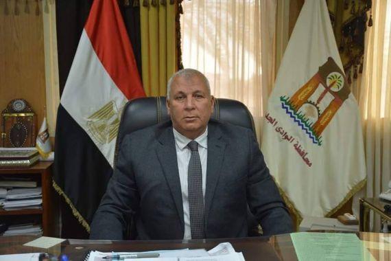 محمد الزملوط محافظ الوادي الجديد