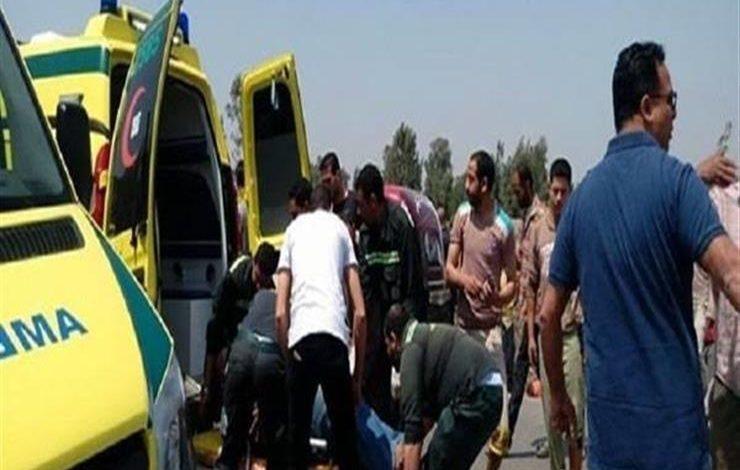 مصرع عامل وإصابة 3 في حادث بالشرقية
