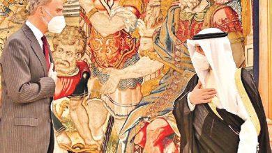 محادثات  الشيخ الدكتور أحمد الناصر ونظيرته الإسبانية تتوج بـ 3 اتفاقيات