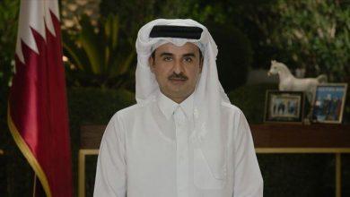 أمير قطر يجدد دعوته لتشكيل حكومة لبنانية ويعلن دعمه لها .