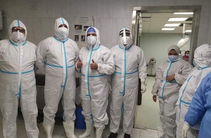 إجراء ولادة قيصرية ناجحة لربة منزل مصابة بكورونا في مستشفى الأحرار بالشرقية