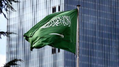 السعودية تعقب على عملية السلام بين إسرائيل والفلسطين .