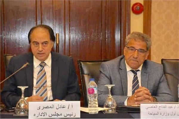 عبد الفتاح العاصى  وعادل المصري