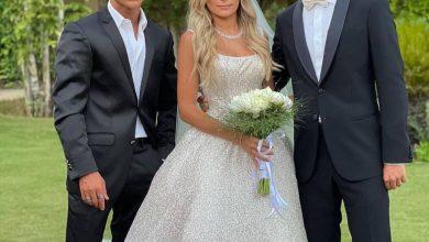 الصور الأولى من حفل زفاف كاميليا ابنة علا غانم سيدتي