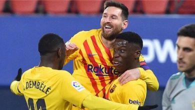 برشلونة يحسم مصير ثنائي الفريق