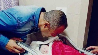 بعد 8 أيام على استشهاده .. يُرزق بمولودة