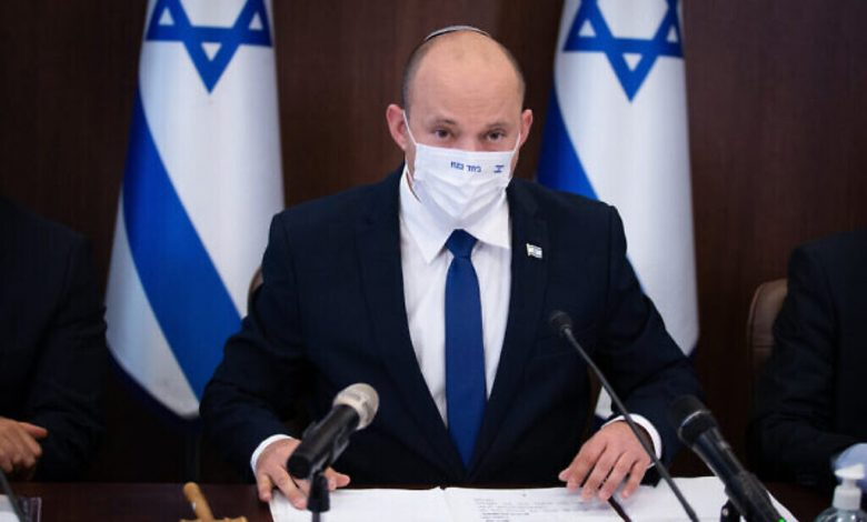 بينيت يعلن عن خطة وطنية لمحاربة الجريمة في الوسط العربي
