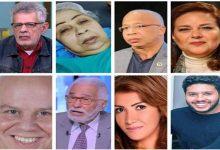 8فنانين في حالة صحية حرجة