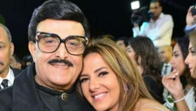 دنيا سمير غانم مع والدها الفنان الراحل