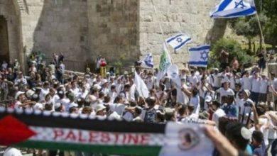 """شرطة الاحتلال تصادق على إقامة """"مسيرة الأعلام"""" في القدس الخميس المقبل"""