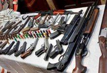 ضبط 4 قطع أسلحة نارية.. وتنفيذ 88 حكما قضائيا في الفيوم