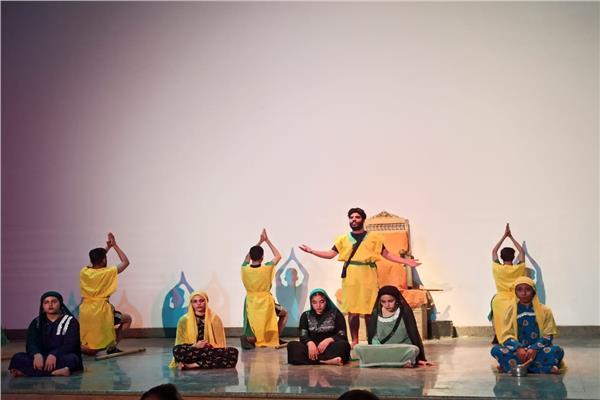 عاليات المهرجان المسرحى الدولى لشباب الجنوب