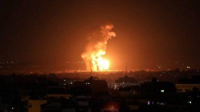 فيديو| طيران الاحتلال يقصف موقعين في غزة