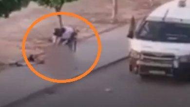 فيديو يثير صدمة وانتقادات بتونس.. سحل رجل عار على أيدي الشرطة