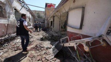 قذائف على مستشفى في عفرين