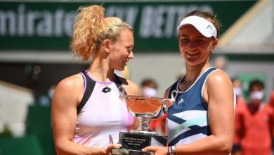 كريتشيكوفا تفوز بلقب زوجي السيدات في رولان جاروس