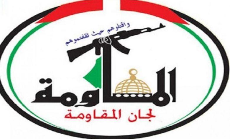 لجان المقاومة: انتصار الشيخ الاسير خضر عدنان هو انتصار للحركة الاسيرة
