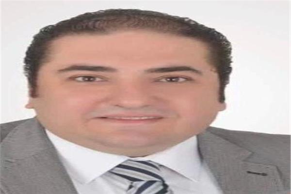 المهندس متي بشاي رئيس لجنة التجارة الداخلية بشعبة المستوردين