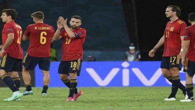 مباراة اسبانيا وسلوفاكيا في يورو 2020