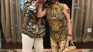 نبيلة عبيد ومحمد رمضان في دبي