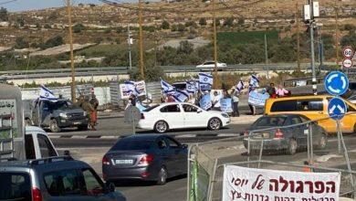 """""""مسيرات أعلام"""" للمستوطنين في الضفة والفلسطينيون يتصدون"""