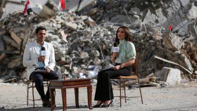 """من قلب غزة..""""صباح الخير يا مصر"""" يبث حلقاته من فوق الركام ."""