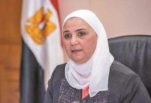 وزيرة التضامن تستجيب لاستغاثة سيدة تعول 3 أطفال بتوفير معاش شهري