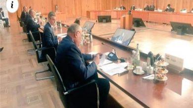 وزير الخارجية يلقى كلمة مصر أمام مؤتمر برلين ٢ حول ليبيا