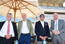 وزير الرياضة يشهد نهائيات منافسات بطولة العالم لليزر-رن للخماسي الحديث