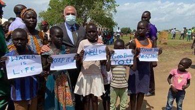 وزير الري يبحث تطورات ملف سد النهضة مع نائب رئيس جنوب السودان